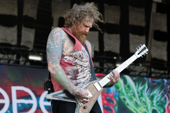 Brent Hinds from Mastodon