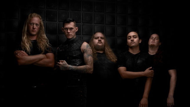 Members of the band Carnifex pose for photo shoot in Anaheim, Calif., Wednesday, July 08, 2015.  (Photo by Clayton Addison © 2015)