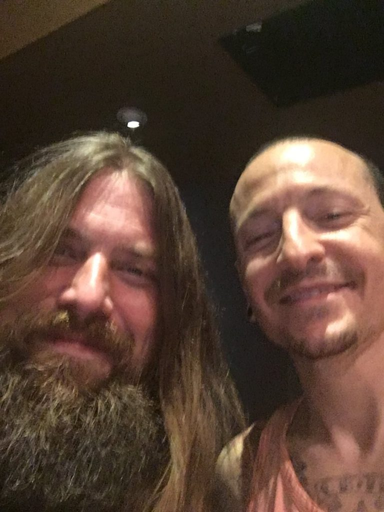 mark morton, chester bennington