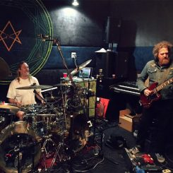 danny carey, brent hinds, legend of the seagullmen