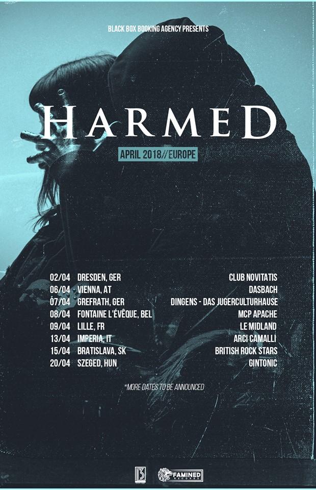 harmed tour
